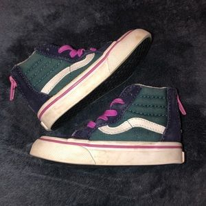 Vans baby promo sneakers size 6c
